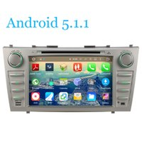 Wholesale Quad Core Car DVD Player Radio Tape Android GPS Navi For Toyota Aurion Camry G WiFi