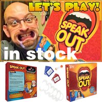 Wholesale In Stock Speak Out Game Best Selling Interesting Party Game for Halloween Christmas Kids Birthday Gift Toy Speak Out Game Family
