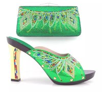 beautiful in italian - beautiful women shoes Latest Coming Elegant Italian Shoes and Bag Set Matching Fashion Dress Shoes And Bags In green Color