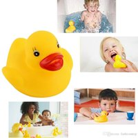 bath tub boy - Funny bath toys Soft Rubber Squeaky Ducky Animal Toy Safety Baby Bath Tub Toy for boys girls Quality