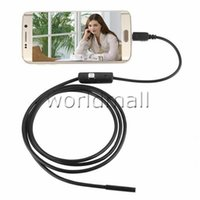 Wholesale 720P Photo Capture Camera mm Lens M M M M Micro USB Android Endoscope Waterproof LED Borescope Inspection For Android Smartphone