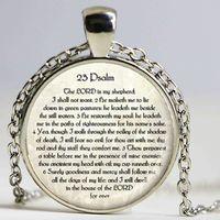 bible scripture verses - rd PSALM JEWELRY Scripture Necklace Psalm Necklace Bible Verse Scripture Jewelry Jewish Gift Christian fashion Jewelry