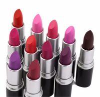 Wholesale Christmas gift Brand Makeup Rebel Luster Lipstick Frost Lipstick Matte Lipsticks g colors lipstick