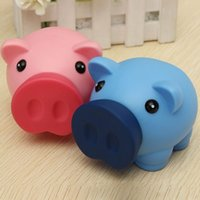 bank cash cute - Portable Cute Plastic Piggy Bank Saving Cash Coin Money Box Children Toy Kids Gifts Home Collection Colors
