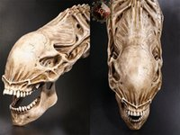 aliens props - Halloween Details about inch AVP Predator VS Alien Skull Prop Replica Simulation Model for Collection Movie Model