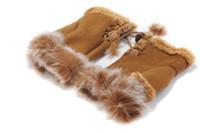 Wholesale Brand New Beatiful Winter Fashion Gloves Warm Wool Hand Wrist Fingerless Gloves Ten Colors Optional