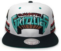 Unisex basketball snapbacks - High Quality Grizzlies Snapback Caps for men and women baseball caps sports fashion basketball hats White color snapbacks Caps