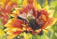 bee wall art - Giclee Landscape Oil Painting bee painting arts and canvas wall decoration art Oil Painting on Canvas X90cm