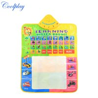Wholesale CP1330nc x60cm big size water drawing board with magic pen water doodle mat baby draw rug baby music mat