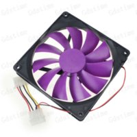 big computer case - 5Pcs Mute Big Airflow Pin CM MM X MM X MM DC V Brushless Computer Cooling Fan