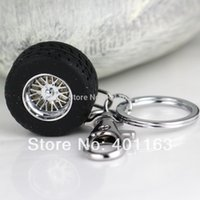 acura automotive parts - nterior Accessories Key Rings Creative Auto Part Model Thicker Wheel Tyre Tire Keychain Fashion Automotive Accessories Key Chain Ring Key