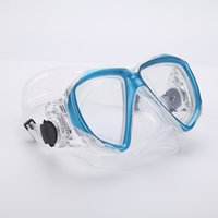 Wholesale Professional Scuba diving Fog proof mask Underwater Free Snorkeling Spearfishing Equipment Myopic optical lens Swimming goggles