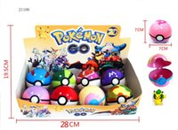 Wholesale Pokeball Pocket Monsters PokéMon Go Figures ABS Anime Action Figures PokeBall Toys Super Master Ball Toys Poke Juguetes CM Novelty Game