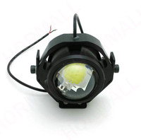 benelli motorcycles - 1 piece W Motorcycle LED spotlight Indicator headlight electric bicycles bike yamah honde Harley Bobber Choppe