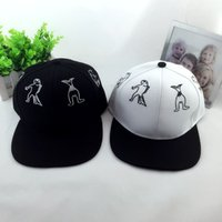 Wholesale 2016 Gravity Falls Snapback Caps Cartoon Mermaid Along The Cap Hip Hop Hat Baseball Spring Summer Lovely Sun Shading Cap