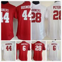 adrian peterson shirts - Youth kids Oklahoma Sooners Baker Mayfield Adrian Peterson Brian Bosworth jersey women lady College Football sport shirt