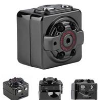 HD 1080P 720P Sport Spy Mini cámara SQ8 Espia DV Video grabadora de voz infrarroja de visión nocturna Digital Cam pequeña cámara ocultada