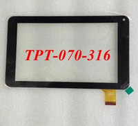 Wholesale New Inch TPT Capacitive Touch Screen Glass Panel for Tablet PC External screen