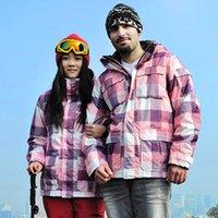 Wholesale New MEN amp WOMEN LOVERS Waterproof Windstopper Skiing Jacket snow boarding jacket