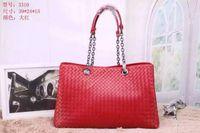 authentic ostrich handbags - 2016 new women handbag Authentic women bag pink leather handbag woven Ms Messenger can counter purchasing new