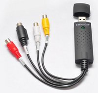 Wholesale USB DVD Video Capture Adapter Video Card Audio AV