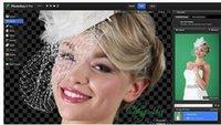 background software - Blue green background matting software FXhome PhotoKey Pro Win bit