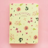 autumn stationery - 4 Autumn Flowers fall A5 notebooks Vintage diary journal agenda books caderno stationery Office School supplies