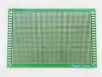 Wholesale CM Glass Fiber Green PCB Circuit Board x18CM Single Side PCB Board