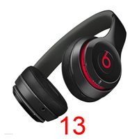 Wholesale HOT Beats Solo2 Bluetooth Headphone Active Collection HD Stereo Wireless Mobile Cellphone Solo Earphone Headset Used Refurbished