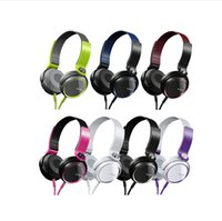 ad computers - Manufacturers new SONY SONY XB400 portable headphone Cool seven color folding heavy bass universal for all aerphones ad computers