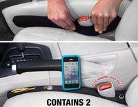 automotive car seats - 2 x Black Neoprene Car Seat Gap Pocket Catch Filler Automotive Organizer Stop To Drop
