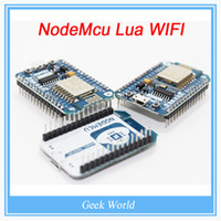 Wholesale New Wireless module M FLASH NodeMcu Lua WIFI Networking development board Based ESP8266 with pcb Antenna and usb port