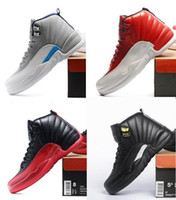 Wholesale Air Retro FLU GAME RELEASE GYM RED GS BARONS FRENCH BLUE UNC THE MASTER GS TAXI RELEASE NYLON Basketball Shoes