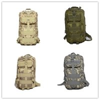 Wholesale Outdoor Molle Tactical Backpack Rucksack Sports Camping Hiking Bag Black Pack Shoulders P Tactical Backpack manufacture