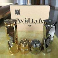 Wholesale New AV Twistgyre Body clone Mod E Cigartte Full Mechanical Mod AV ringer mod AV Twistgyre Mod gold Stainless Steel vs Scndrl Mod