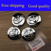 Wholesale Best quality mm Chrome Toyota wheel Center Cap Emblem Badge Fit Replaced Rims With quot Toyota Wheel Hub Cap