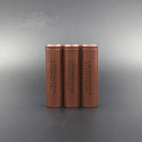 Wholesale Original Battery LG HG2 Battery A MAX High Drain Lithium Battery Flat Top Rechargable mAh FedEx