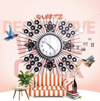 Wholesale 1 modern clock Chinese style living room creative personality clock mute Plum wall clock
