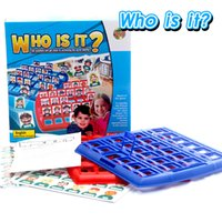 Wholesale Board Games who is it Intellectual development Educational toys parent child interaction toys Party Funny Toy Birthday Gift Toy