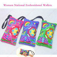 arts ladies purse - Hot Ethnic Cloth Art Wallet Lady HandBag Embroidered Coin Bag Women Purse