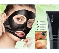 Wholesale DHL Hot Sale PILATEN remove blackheads acne treatment mineral black mud face Peels mask nasal membranes g