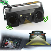 bi sensor - New Car Video Parking Camera Sensor Rear view camera Sensors Indicator Bi Bi Alarm Car Reverse Radar Assistance System