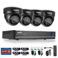 Wholesale 2016 SANNCE HD CH CCTV System DVR MP P TVL IR Outdoor Security Camera System Channel Video Surveillance Kit