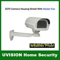 Wholesale CCTV Camera Housing Shield With Heater Fan Bracket Weather Proof