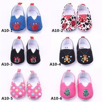 baby shoes pictures - New Arrival Baby Shoes Various Color and Picture Fabric Cartoon Pattern Animal Prints Free Fedex Shipping