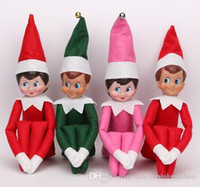 Wholesale 2017 mixed elves of Christmas Plush Elves Xmas doll For Kids Holiday Gift Plush Toys Movies Cartoon Video