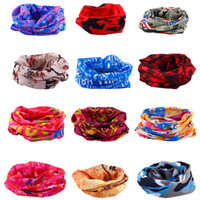 Wholesale Fashion Hot Paisley Design Novelty Cycling Outdoor Magic Anti UV Bandana Headband Scarf Hip Hop Multifunctional Wristband Headscarf Y412