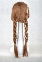 Wholesale Ice and snow country Anna Anna double braid hair adventure