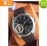 analog digital watch prices - 2016Special price new luxury pendulum caliber men sports watch rubber strap original clasp glass back transparent quality