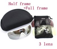 cycling glasses - POC DO BLADE Bicycle Sunglasses lens Polarized Anti Fog Cycling bici velo Glasses Cycling Eyewear Outdoor sports gafas Ciclismo